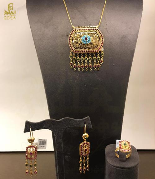 نصف طقم بحريني عيار 21 Al Alawi Jewellers